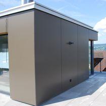 Bardage pour façade ventilée / en HPL / lisse / en panneaux