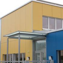 Bardage lisse / en panneaux / pour façade ventilée
