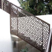 Garde-corps en HPL / à panneaux / d'extérieur / pour escalier