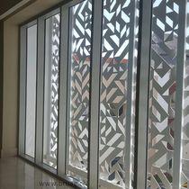 Brise-soleil en composite / en HPL / pour façade / pour fenêtre