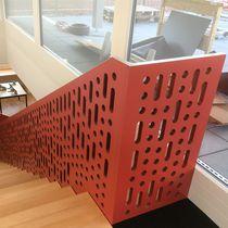 Garde-corps à panneaux / d'intérieur / pour escalier