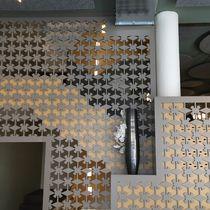 Garde-corps à panneaux / d'intérieur / pour mezzanine