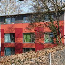 Bardage pour façade ventilée / en fibre de bois / lisse / coloré