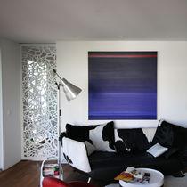 Panneau décoratif MDF / pour cloison / mural / perforé