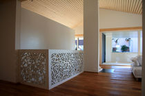 Garde-corps en bois / à panneaux / d'intérieur / pour escalier