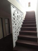Garde-corps en MDF / à panneaux / d'intérieur / pour escalier