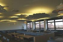 Panneau acoustique pour faux-plafond / MDF / décoratif / rétroéclairé