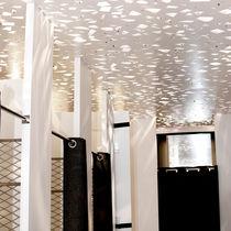 Panneau acoustique pour faux-plafond / en contreplaqué / décoratif / rétroéclairé