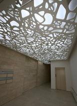 Panneau acoustique pour faux-plafond / MDF / décoratif / professionnel