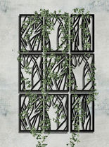 Treillage pour mur végétal