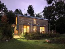 Maison modulaire / contemporaine / à ossature bois / à bois