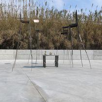 Sculpture en métal / d'extérieur