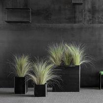 Pot de jardin en acier / rectangulaire