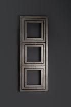Radiateur à eau chaude / en métal / contemporain / horizontal