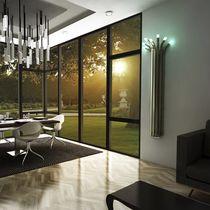 Radiateur à eau chaude / en bambou / design original / vertical