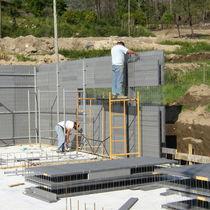 Bloc coffrant en béton / pour mur / sur mesure / isolant