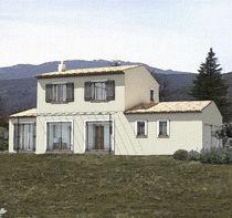 Maison modulaire / préfabriquée / contemporaine / en béton