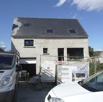 Maison modulaire / contemporaine / en béton / résistante aux tornades