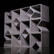 Étagère modulable / contemporaine / en béton