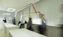 Lampe suspension / contemporaine / en bronze / à LED
