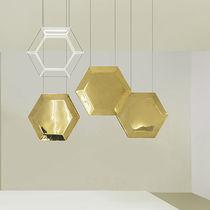 Lampe suspension / contemporaine / en bronze / en acier