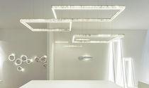 Lampe suspension / contemporaine / en marbre / à LED