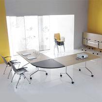 Table de conférence / design original / rectangulaire / ronde