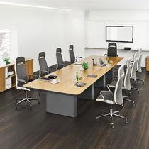 Table de conférence / design original / rectangulaire
