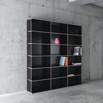 Bibliothèque modulable / contemporaine / pour bureau