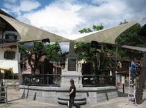 Structure d'ombrage en toile / pour espace public / pour aire de jeux / pour parking