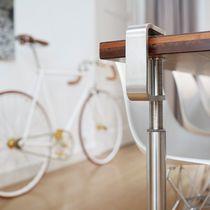 Pied de table en acier inoxydable / contemporain / résidentiel