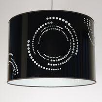 Lampe suspension / contemporaine / en PVC / fait main