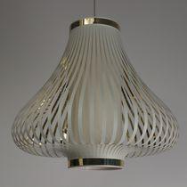 Lampe suspension / contemporaine / en tissu / en PVC