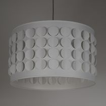 Lampe suspension / contemporaine / en tissu / fait main