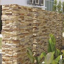 Parement en béton / extérieur / aspect pierre / décoratif