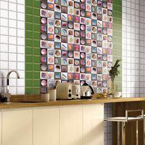 Carrelage de cuisine / mural / en céramique / à motif