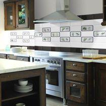 Carrelage de cuisine / mural / en céramique / motif nature