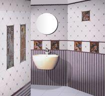 Carrelage de salle de bain / mural / en céramique / motif scène