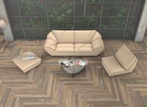 Carrelage aspect parquet / pour sol / en céramique / lisse