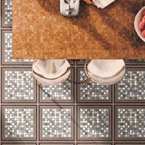 Carrelage pour sol / en céramique / motif géométrique / lisse