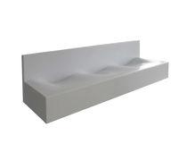 Vasque multiple / à poser / rectangulaire / en Corian®