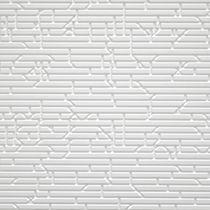 Revêtement mural en Corian® / professionnel / texturé / à effet dimensionnel