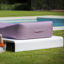 Bain de soleil contemporain / en aluminium / d'intérieur / de jardin