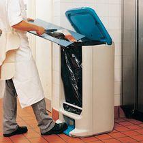 Poubelle de cuisine / en plastique recyclé / professionnelle / à pédale