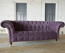 Canapé chesterfield / en velours / 2 places / 3 places