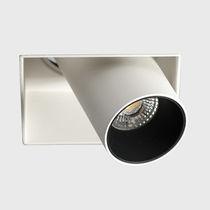 Spot encastrable au plafond / à LED / carré / en aluminium