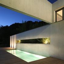 Luminaire encastrable au sol / à LED / rond / carré