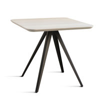 Table contemporaine / en hêtre / en frêne / en métal