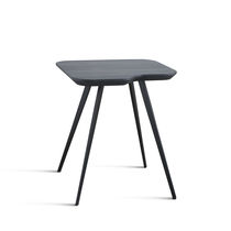 Table d'appoint contemporaine / en MDF / en frêne
