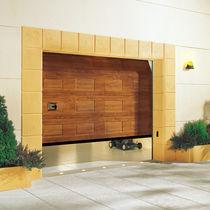Portes de garage sectionnelles / en tôle d'acier / en aluminium / automatiques